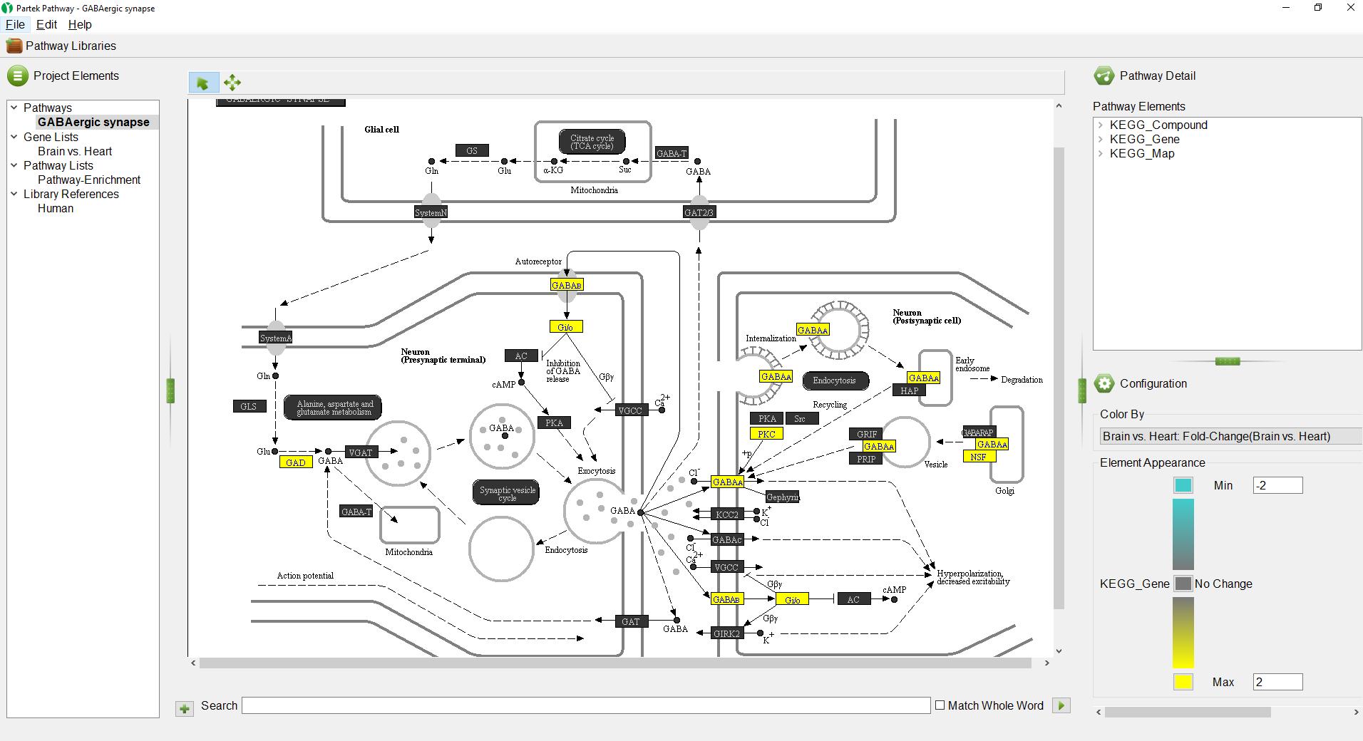 analyzing pathway enrichment in partek pathway - genomics suite documentation