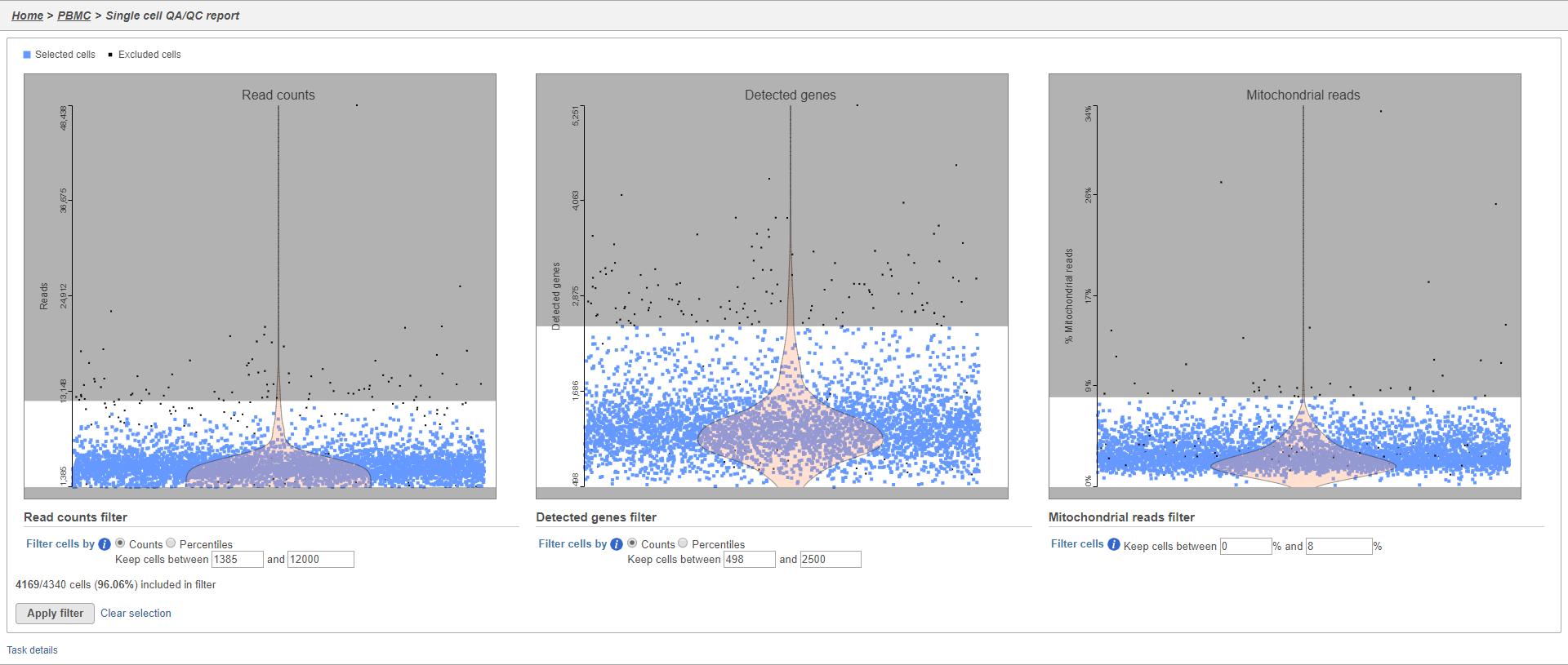 Analyzing Single Cell RNA-Seq Data - Flow Documentation - Partek