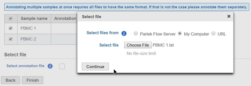 Annotate cells - Flow Documentation - Partek® Documentation