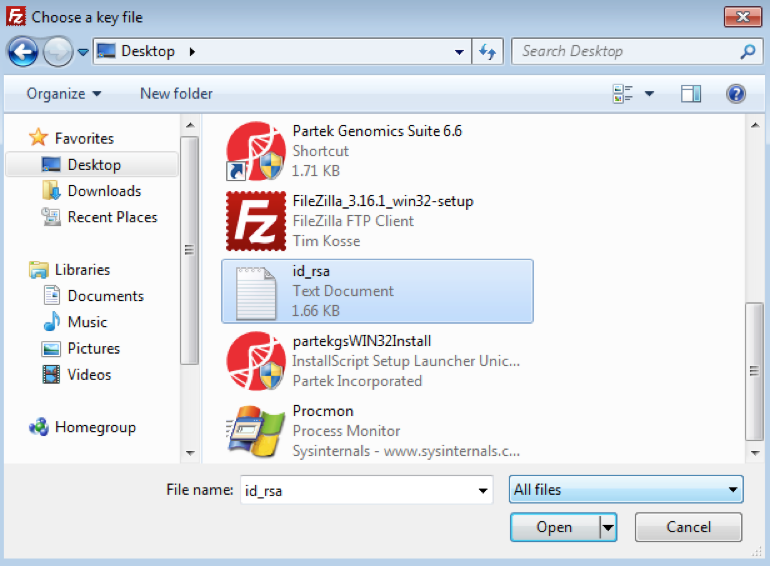 SFTP File Transfer Instructions - Flow Documentation